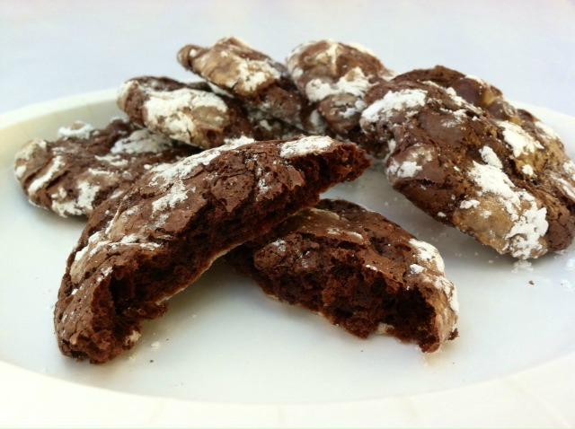 Deep Dark Chocolate Cookies