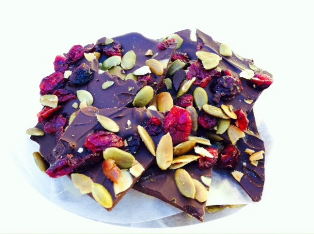 Cranberry & Pumpkin Seed Bark
