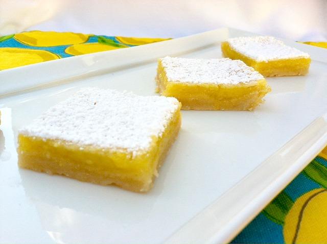 Classic Lemon Bars | Potluck Time